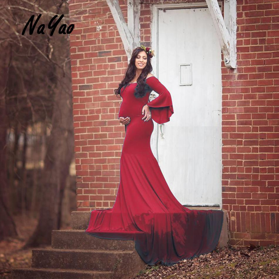 992453d3ad3ea Plus Size Maternity Photoshoot Gowns