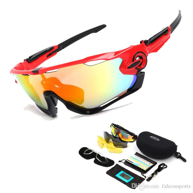 9265274948c 2019 Outdoor Riding Glasses Polarized Sunglasses Goggles Windproof  Interchangeable Lenses Cycling Eyewear Outdoor Sports Cycling Glasses 9270  From ...