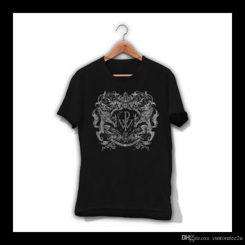 Compre Camiseta Hombre Lobo Negro Powerwolf Camiseta De Banda De Metal  Pesado Sabaton Saxon Rage S Xxl Camiseta Hombre Hombre Camisa Masculina  Personalizada ... 052990f8500