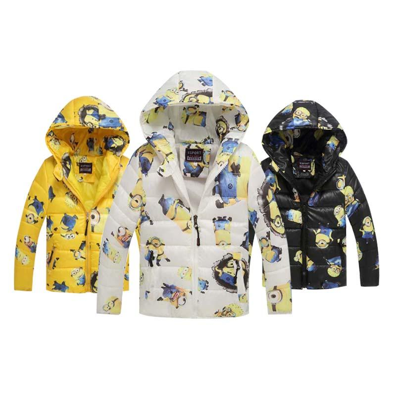e5ac52abe Winter Children S Boys Character Jackets Cotton Warm Coat Children ...