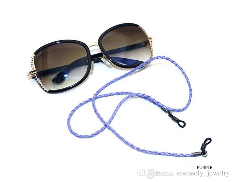 b8ee34296aa8 2019 Neck Cord Cable Reading Glasses Eyewear Eyeglass Sunglasses Strap  Spectacle Holder String Chain High Quality From Sunnice