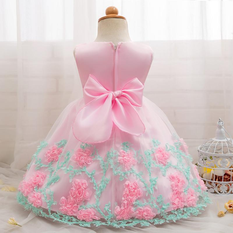 Newbron Baby First Birthday Dress Outfits Kids Dresses For Girls  Christening Party Wear Baby Costume Infantil Vestidos 1 2 Years UK 2019  From Cassial f95317a9a