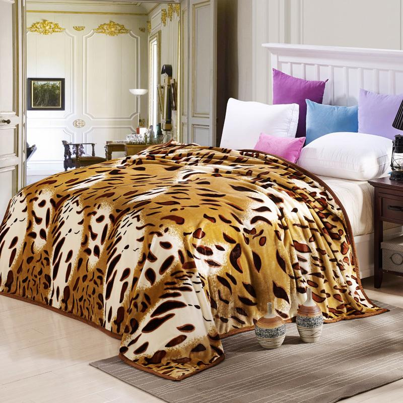 Cloud Mink Cashmere Bed Cover Blanket Fur Crochet Soft Fluffy Fleece Adorable King Size Blankets And Throws