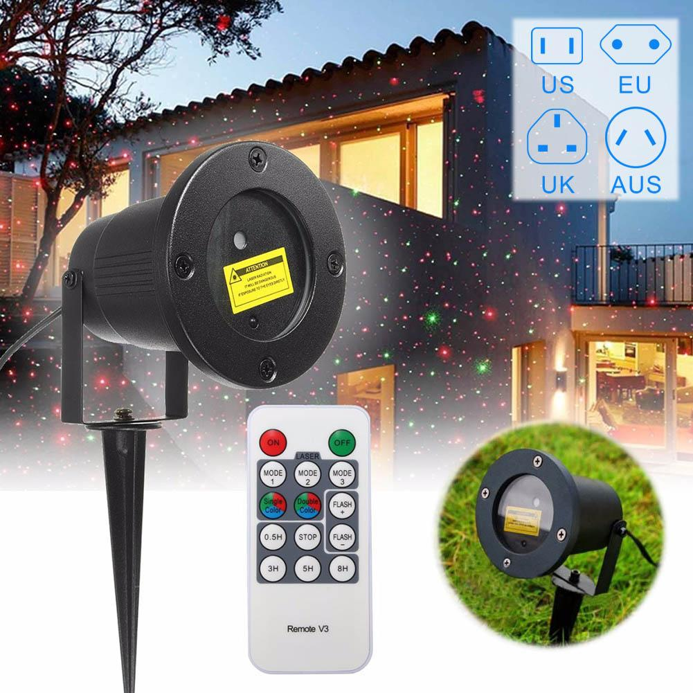 De Au 100 Projecteur V Fée Paysage M25 Uk LumièreUs Plug Jardin 2a Eu Laser Lampe Extérieure Étanche Projection Led 240 FTclK1J