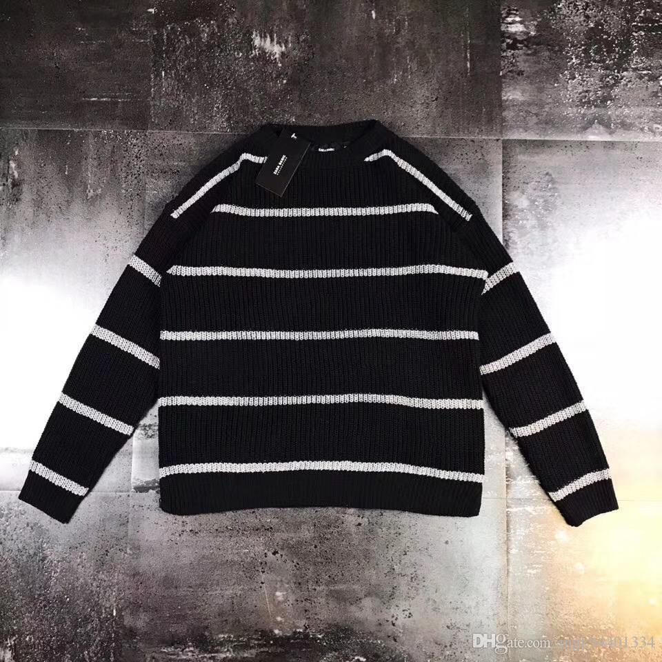 f0b049107d4 New Men s ClothingMen s SweatersMen s Korean Version is Simple And ...
