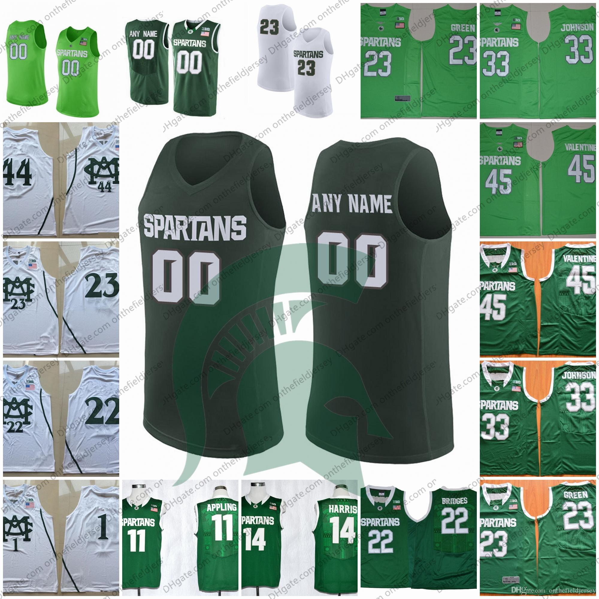 reputable site bf1bc 21e11 shopping draymond green michigan state jersey 1b02b 02f7d