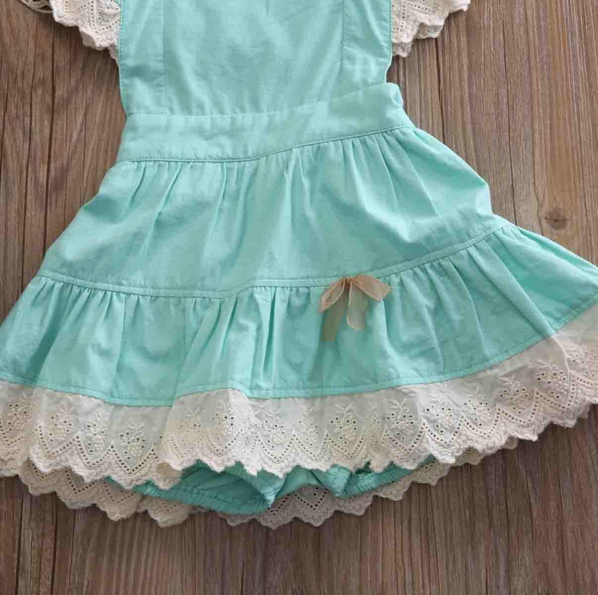 Blumen-Partei-Backless-nettes Kleid-Mädchen-Sommerkleid-neuer Sommer-nettes Kleinkind-Baby-Kind-Mädchen-Kleider-Spitze-Ball