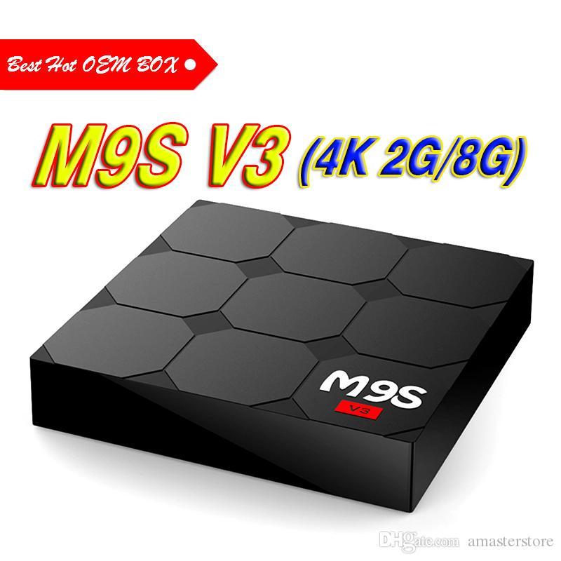 2018 Cheapest 2gb 8gb Android 60 Tv Box M9s V3 Rockchip Rk3229 H