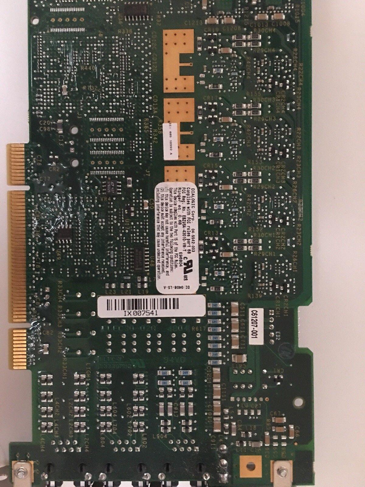 Endüstriyel ekipman panosu Dialogic DI / 0408-LS-A 04-5542-00296-0812-110 83-0668-004
