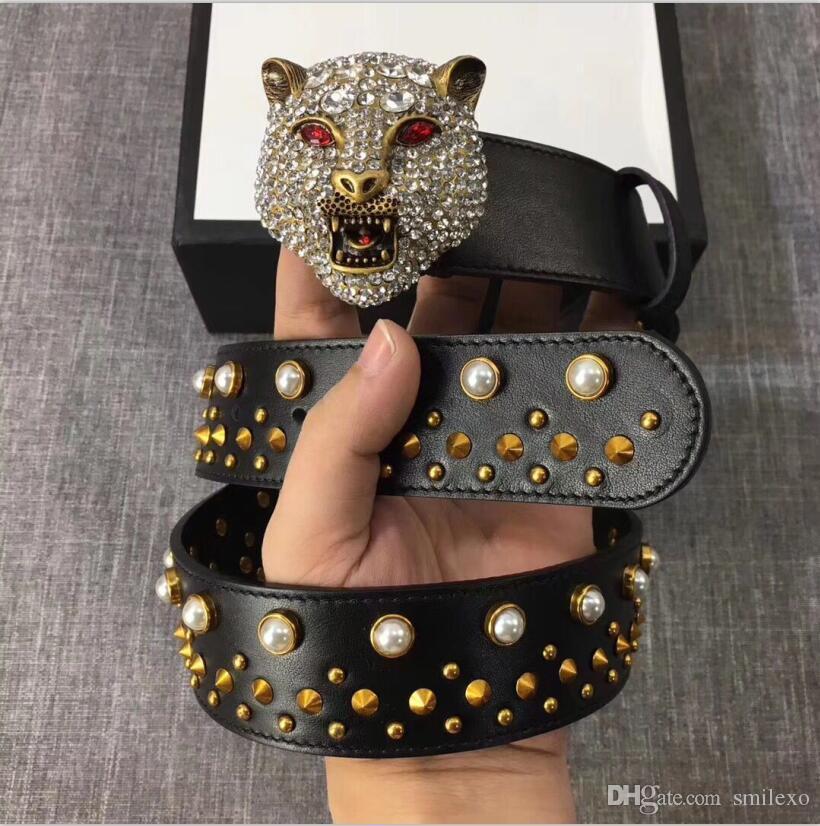Top Quality 2018 Fashion Brand Designer Real Leather Belt Men Women