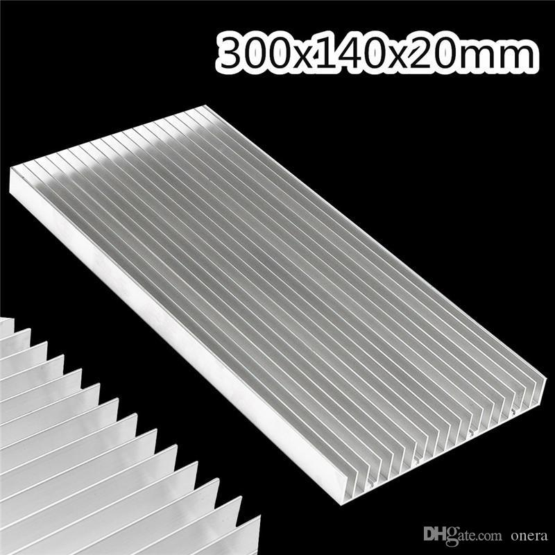 High Quality 300x140x20mm Aluminum Radiator Heat Sink Cooling Cooler For  LED Power IC Transistor Module