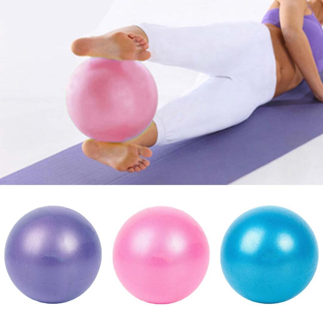 Exercise Gymnastic 25cm Pelota Yoga Fitness Pilates Ball Balance Exercise  Gym Fitness Yoga Core Ball Indoor Gym Blue Yoga Ball Yoga With Balls From  ... 5e2effacd934