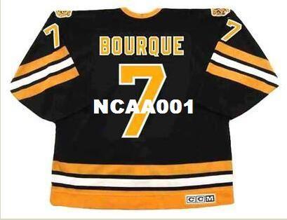 71a18a3b8 ... sale 2019 mens 7 raymond bourque boston bruins 1987 ccm vintage away  hockey jersey or custom ...