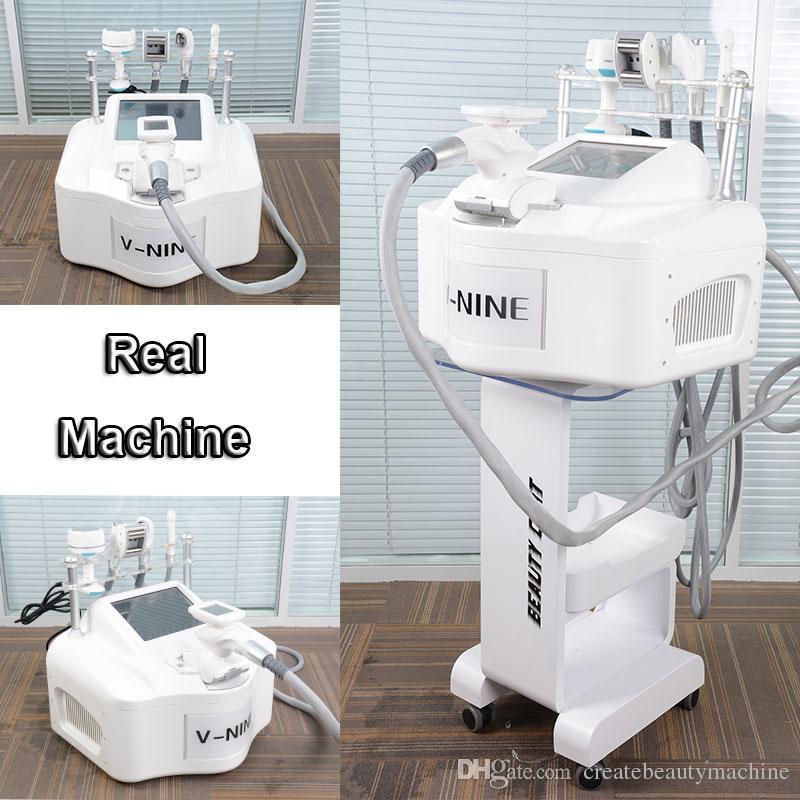 Mini portable ultrasonic vacuum cavitation machine vacuum rf slimming system vacuum velashape slimming weight loss equipment