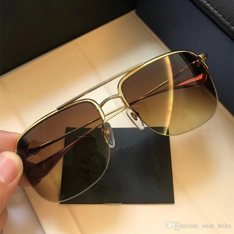 4ef4c186066 2018 Sport Brand Sunglasses Fashion Sunglass For Men And Women Carved Metal  Frame Square Luxury Sunglasses Fashion Retro Sunglass With Case Best  Sunglasses ...
