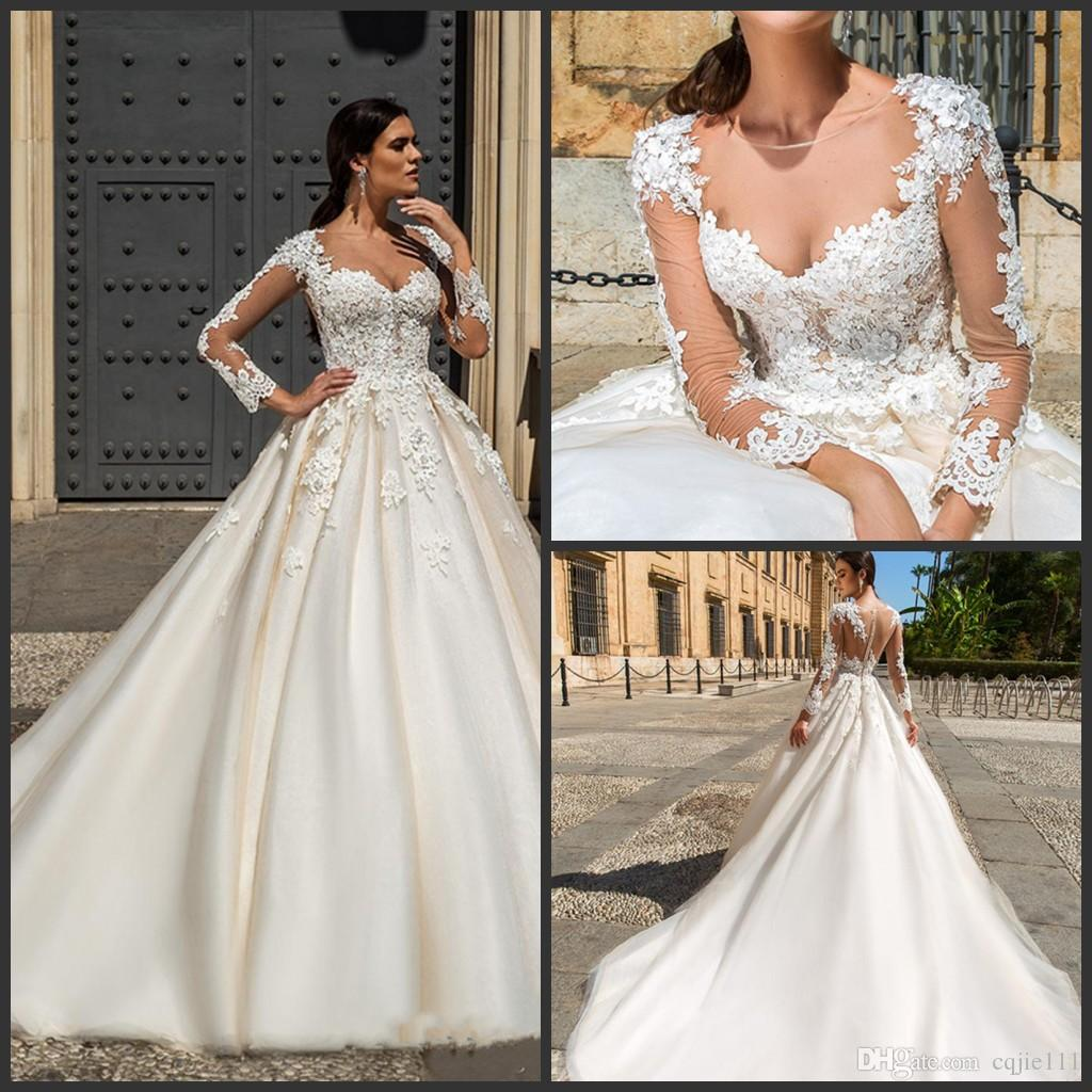 Discount Designer Wedding Gowns: Discount 2018 New Sexy Designer Stunning Wedding Dresses