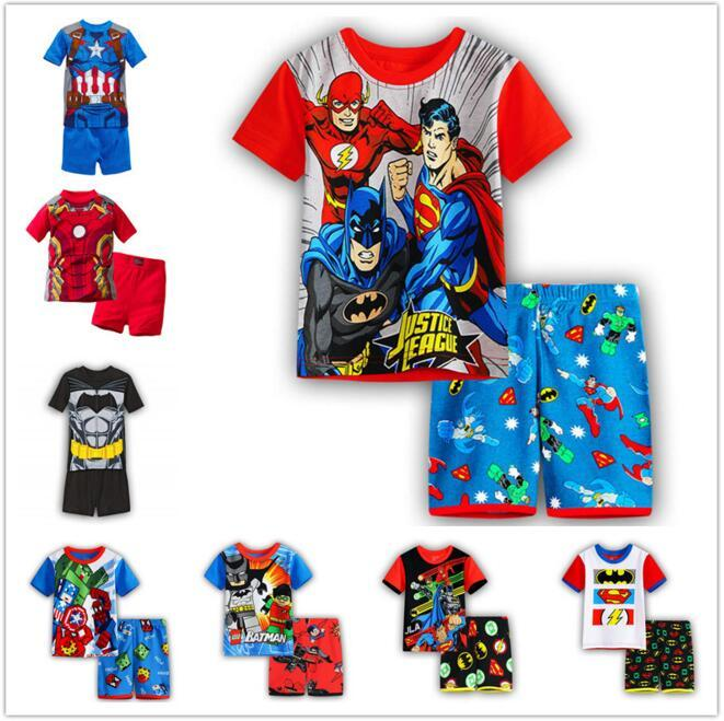 19f2309ef7 2019 Marvel Tshirt T Shirt Clothes For Boy Kids Spider Man T Shirt Boys  Tracksuit Set Super Man Shirt From Cover3085