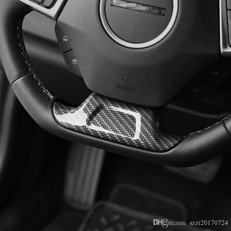 Car Styling ABS Auto-Lenkrad Dekoration Abdeckungs-Ordnung für Chevrolet Camaro 2017+ Auto-Innenraum-Accessoires