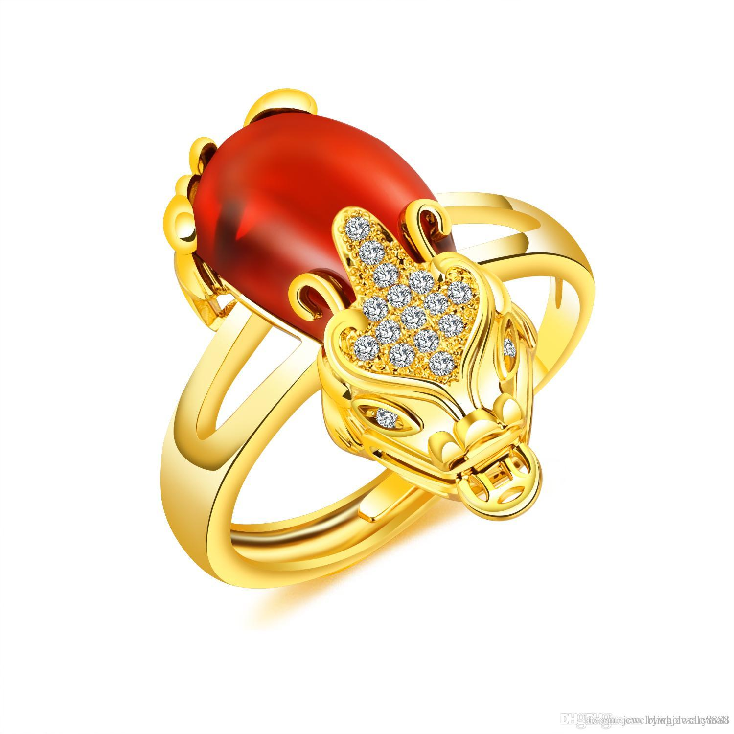 orange for pin ring rings gold and citrine jewellery size s women