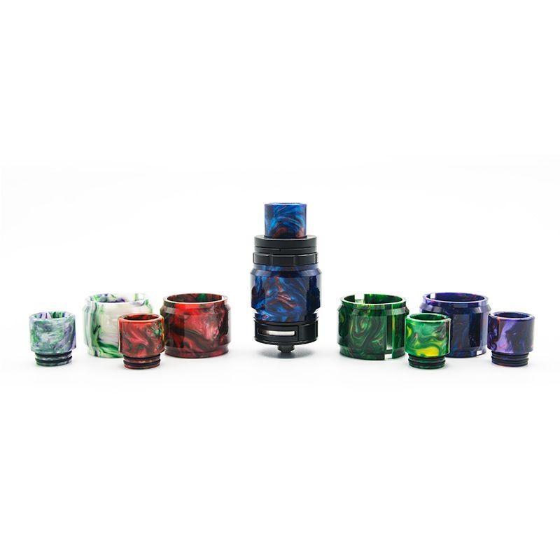 TFV8 Big Baby resina Tubo Kit di sostituzione del tubo di vetro resina TFV8 Big Baby Extended Capacity tubo Kit Vape cig e Accessori
