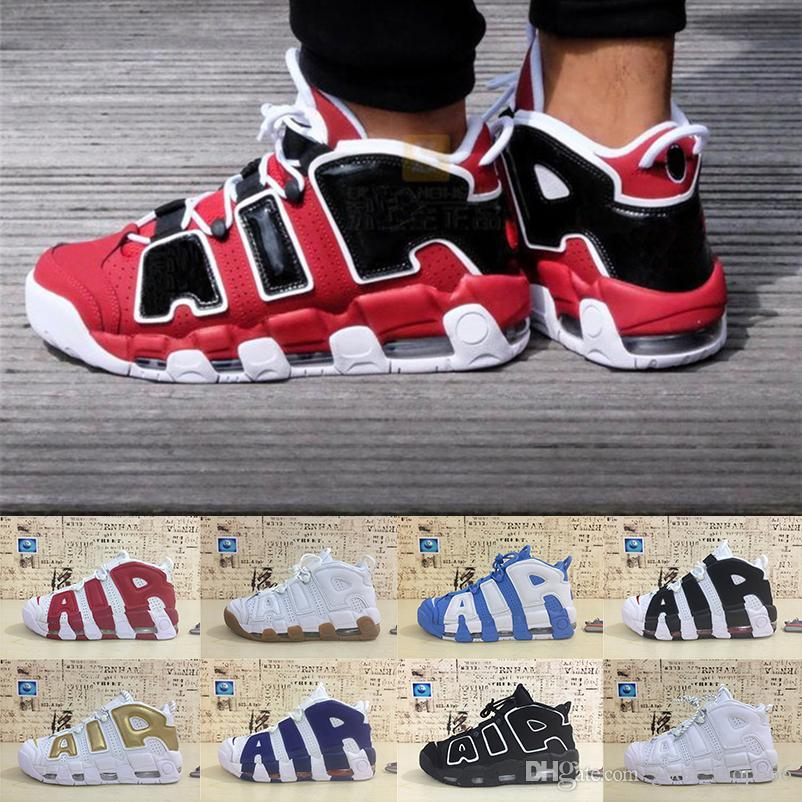 80671ecf781 Classic Pippen Air More Uptempo Basketball Shoes Designer Shoes Mens Shoe  3M Scottie Pippen Uptempos Athletic Sports Shoes Sneakers 40 46 Cool  Basketball ...
