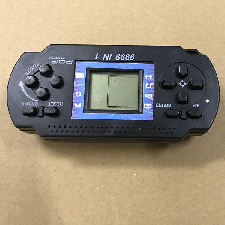 Jugadores para niños Tetris Classic Nostalgia Game Kids Portátil consola de juegos portátil Dispositivo portátil para PSP