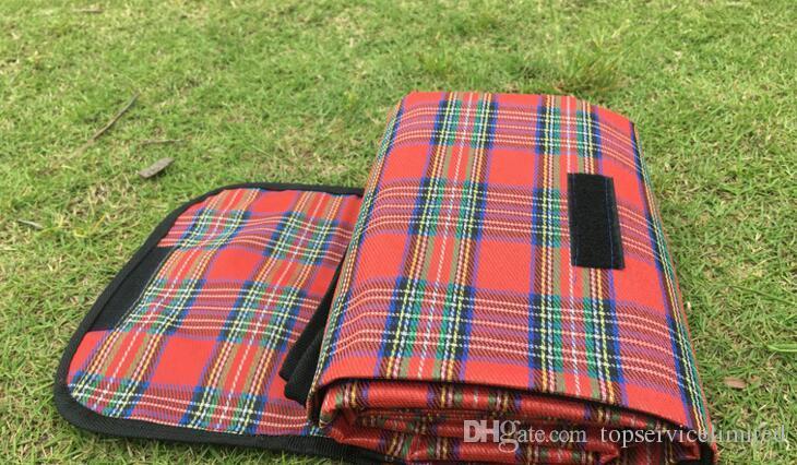 Taşınabilir Su Geçirmez Piknik Battaniye Katlanabilir açık traving Plaj Mat bebek oyun mat kamp kullanımı piknik pedi