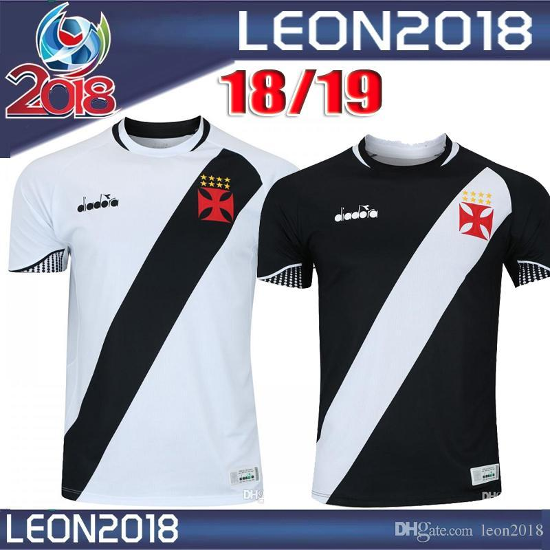 d40abb94e5 Compre 2018 2019 Camisa Vasco Da Gama MAXI Y.PIKACHU A. RIOS PAULINHO  Camisola De Futebol 18 19 Da Gama Em Casa Camisa De Futebol De  Wanmeishijiejing