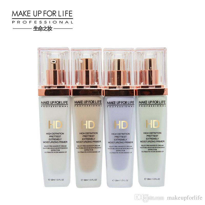MAKE UP FOR LIFE High Definition Light Foundation Base Highly Moisturizing And Waterproof Long Lasting Moisturizing Makeup Primer