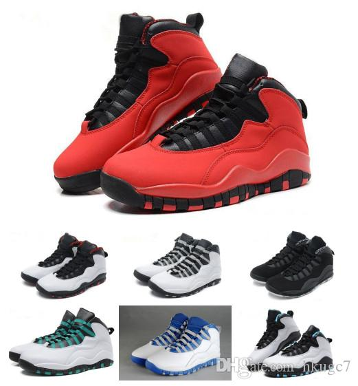 f0502e11cd8a3c 2018 10 For Powder Blue Cool Grey OVer Red Chicago London Mens Basketball  Shoes Classic 10s X Mid Athletic Sport Sneakers Buy Shoes Online Discount  Shoes ...