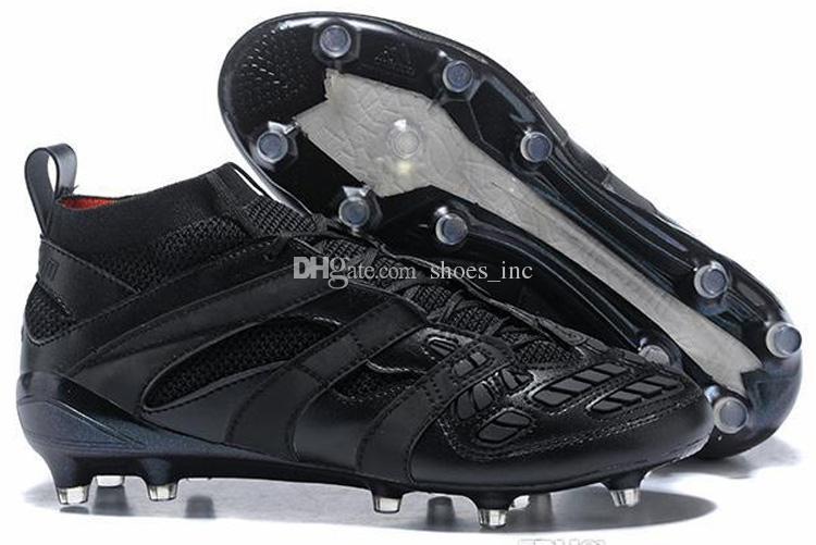 المفترس مسرع DB TF FG رجل عالية الكاحل أحذية كرة القدم أحذية كرة القدم Primemesh كرة القدم المرابط ACE purecontrol بيع الساخن