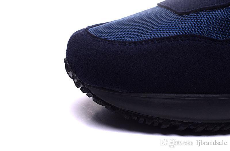 4c78272d7af Compre Venda De Luxo Hogans Sapatilha Itália H Designer De Sapatos Homens  Sapato Da Moda Homem Sapatos Casuais Altura Crescente Trainer Camurça Ao Ar  Livre ...