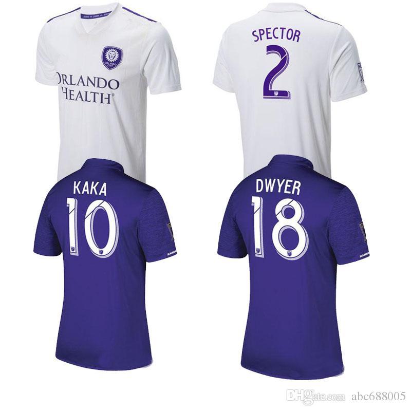 2019 New 2018 ORLANDO CITY Soccer Jersey Thai Quality KAKA Away Shite  Spector Yotún Dwyer Kljestan 18 19 ORLANDO Football Shirt From Abc688005 23e553528