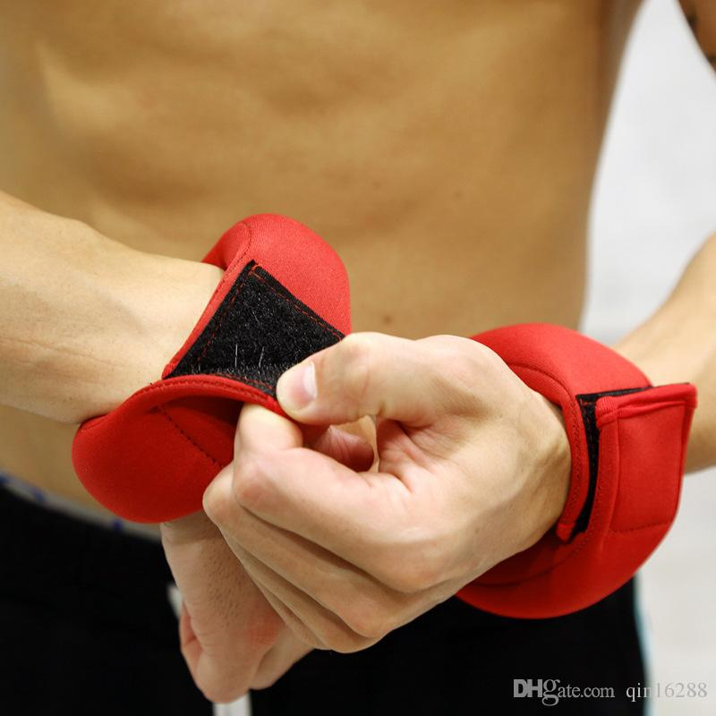 Composite Dives Fashion Sports Sandbags Wrist Weights Sports Gear Small Wholesale Red Color Fast Shipping