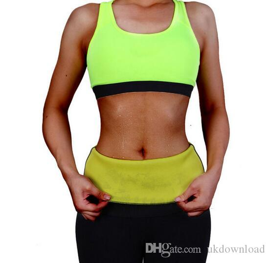 3a0c9eb38c8 New Slimming Waist Belts Neoprene Body Shaper Corsets Cincher Trainer  Promote Sweat Bodysuit Fitness Women Hot Sale Women s Shapers Loss Waist  Shaper Vest ...