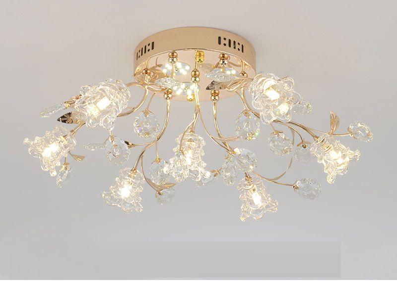 Kreative wohnzimmer lampe LED deckenleuchten modernes schlafzimmer licht  personalisierte esszimmer schlafzimmer kristall deckenbeleuchtung studie ...