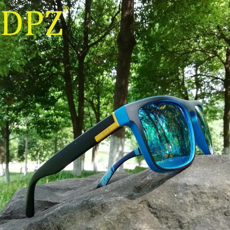 209101045 Compre 2018 Dpz Designer De Marca De Luxo Óculos Polarizados Óculos De Sol  Dos Homens Shades Masculino Óculos De Sol Para Homens Retro Oculos Pacote  ...