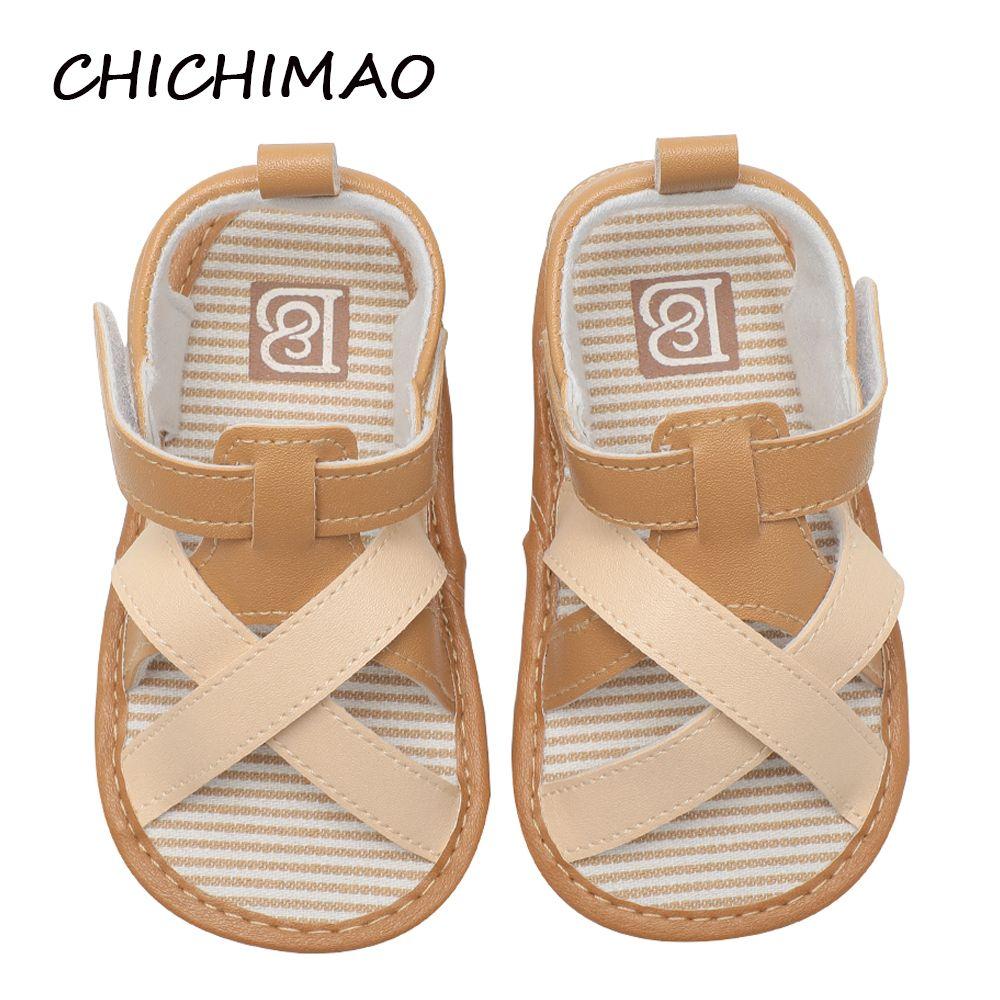 df6c9d13a Compre Baby Girls Niños Sandalias De Lona Pu Soft Sole Princesa Infantil  Flats Bowknot Niño Zapatos Para Caminar De Verano 0 18 Meses A  36.5 Del  Sightly ...