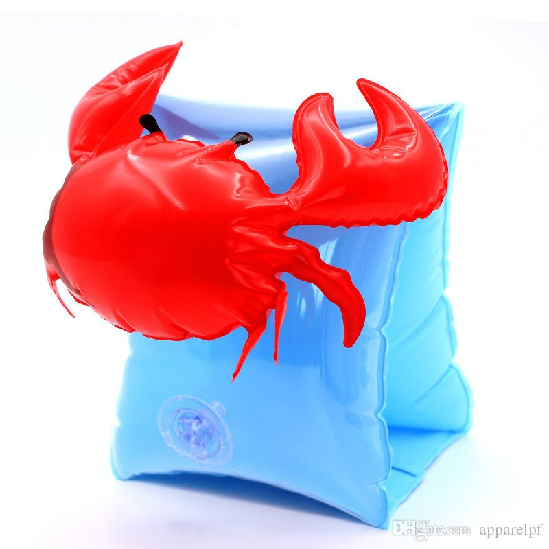Inflatable toys swimming sleeves, pineapple, cherry, flamingos, arms, rings, crabs, floating rings, arm rings, spot wholesale, water fun.