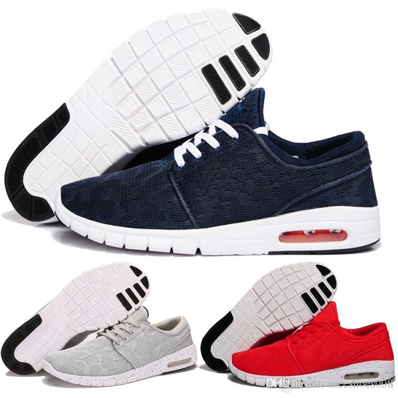 online retailer f2307 ebcc5 Acheter Vente Chaude Nike Sb Stefan Janoski Chaussures De Course Pour  Hommes Femmes Enfants Mode Konston Léger Skateboard Athletic Sneakers  Taille Eur 36 45 ...
