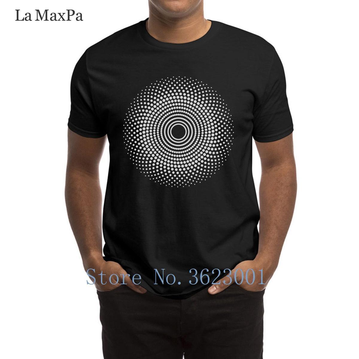b310878b5a59d2 Großhandel Kundenspezifische Brief Männer T Shirt Punkte Mandala T Shirt  Branded Herren T Shirt Für Herren Neue Stil S 3xl Männer T Shirt Hohe  Qualität Von ...