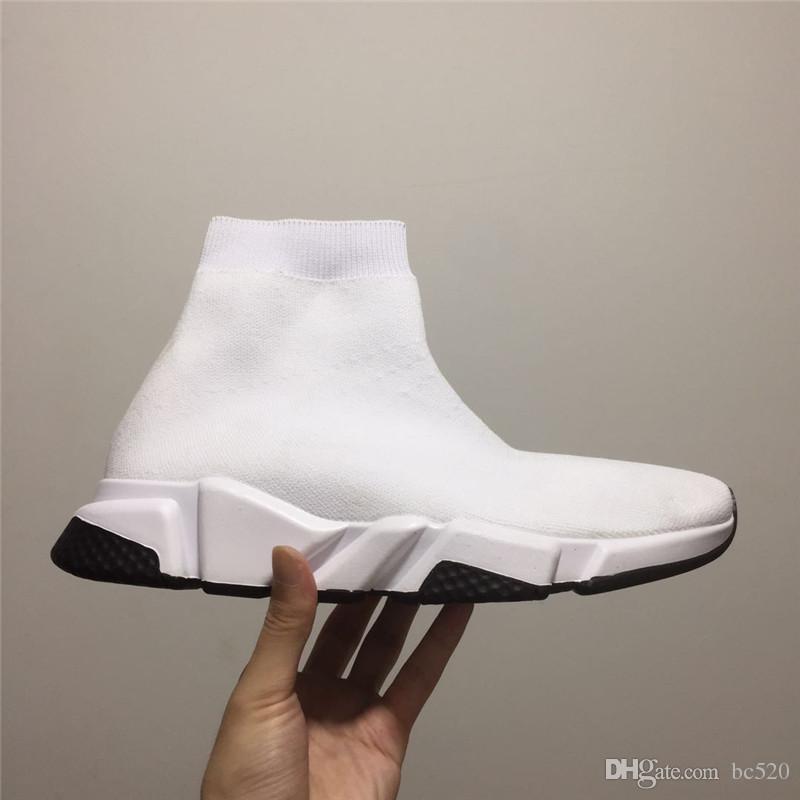 Balenciaga sock shoes Calcetín de lujo de alta calidad Zapato Speed Trainer Running Sneakers Speed Trainer Calcetines Race Runners Zapatos negros hombres y mujeres Zapatos deportivos 36-45