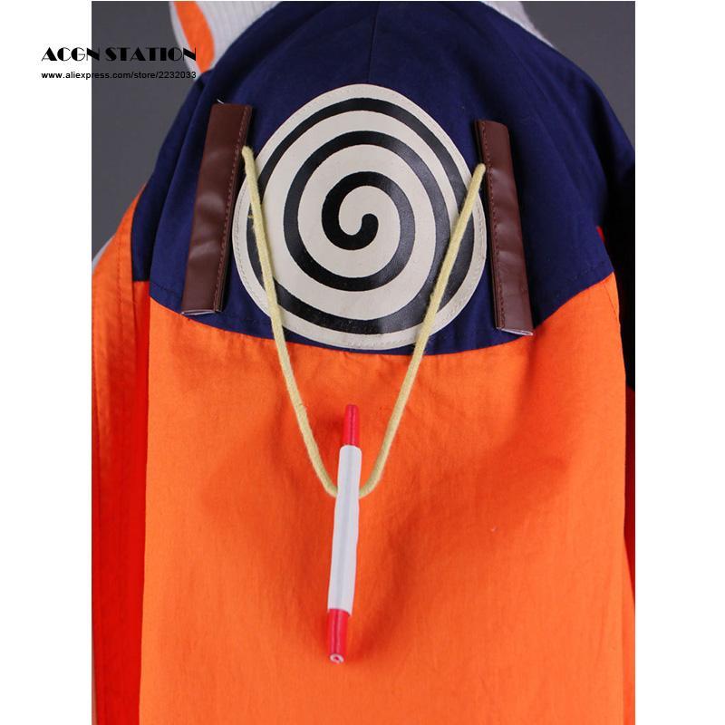 2018 Adult Kid Cosplay Anime Costume Hot Anime Naruto Cosplay Costume Naruto Uzumaki Cosplay For Halloween