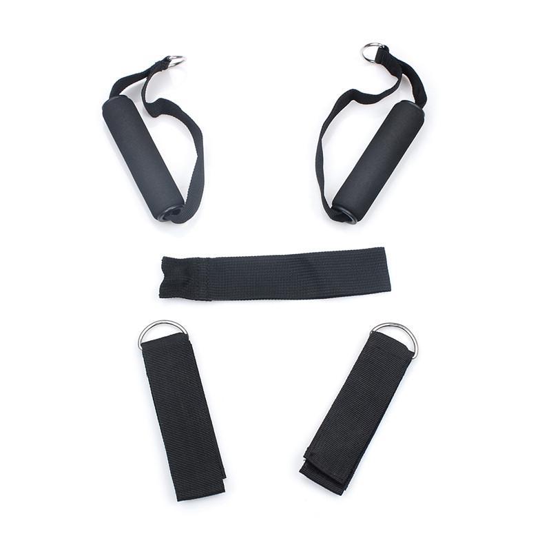 5 Latex Hombres y Mujeres Cuerdas de resistencia a la tracción Cuerda Ejercicio Entrenamiento Gimnasio Yoga Aptitud Estiramiento Abs