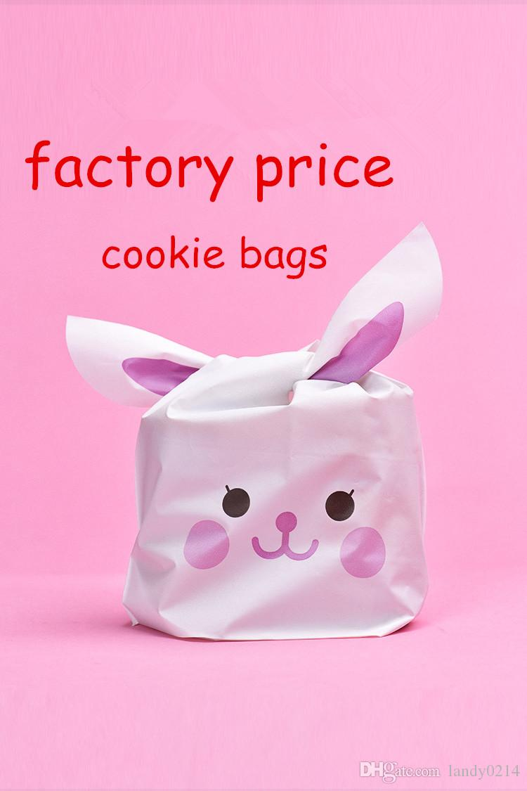 Hot Selling Cute Rabbit Ear Cookie Bags Gift Bags For Candy Biscuits ...