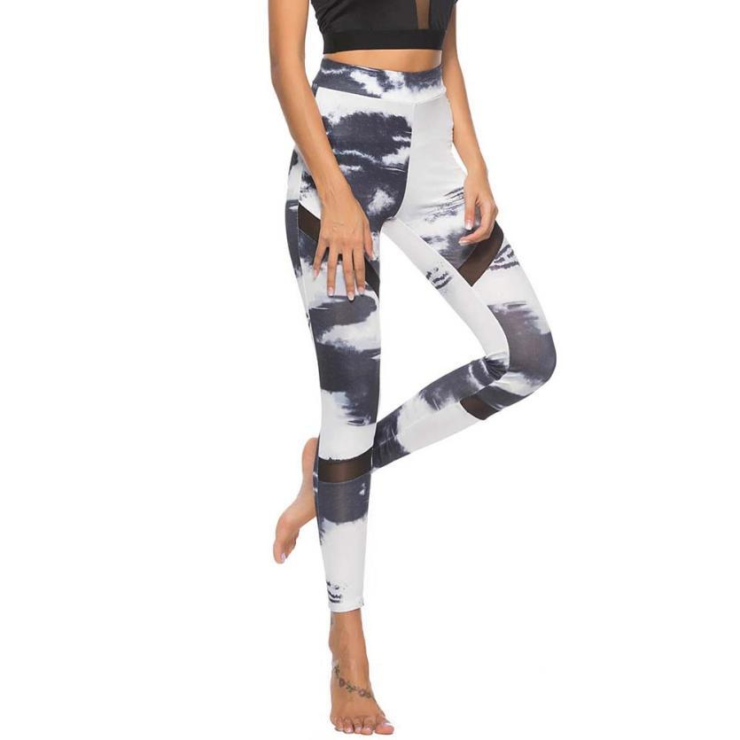 ba9a40837e313 2019 Women Print Workout Leggings Fitness Sports Gym Running Yoga Athletic  Pants Workout Running Tight Sport Leggings Female Trouser From Lookest, ...