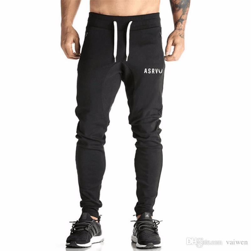 2019 Wholesale Golds Pants Mens Tracksuit Bottoms Cotton Fitness Skinny  Joggers Sweat Pants Pantalones Chandal Hombre Casual Pants From Vaiwen 39372f324270