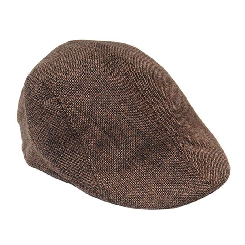 2019 Mens Vintage Herringbone Flat Cap Boy Male Durable Sports Peaked  Riding Hat Beret Country Golf Hats Caps From Rainlnday ea9b7a0092b