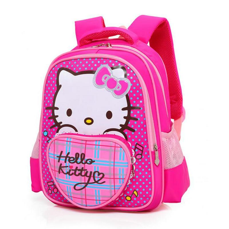 c25f5ccdf10a New Fashion Children Backpack Hello Kitty Girl S School Bags Book Backpacks  Princess Bags Girls Lovely Children Pretty Backpack Small Backpack Laptop  ...