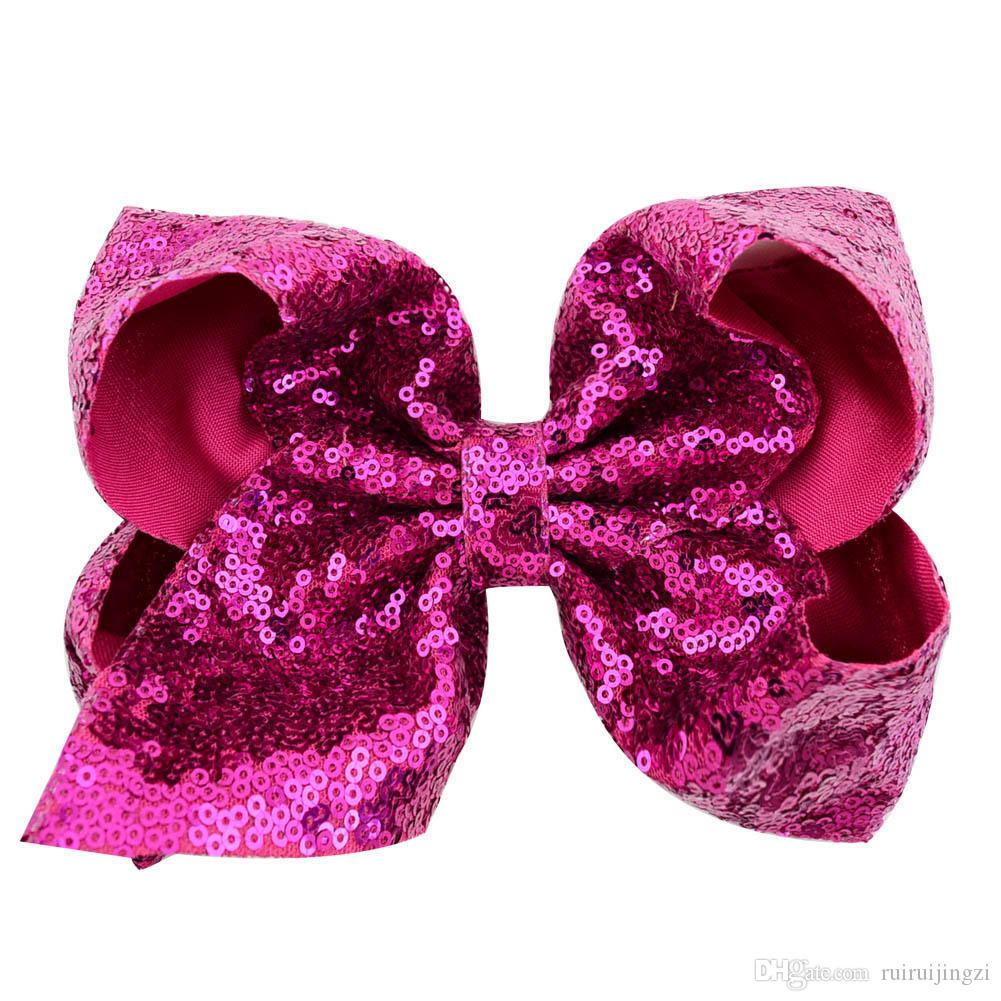 Pet Cats Grooming Accessories Clips 8 cm sequin large bow hair clip pet dog cat Hair bow Hairpin